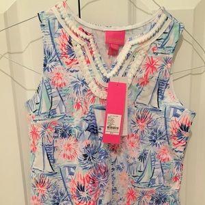 Lilly Pulitzer Dresses - NWT! ⛵️ Lilly Pulitzer Girl's Dress sz. L